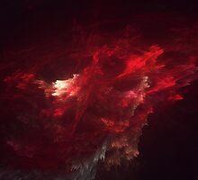 Cosmic Storm R E D U X - 3D Nebula Fractal by James Headrick