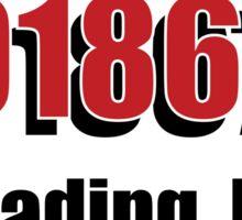 01867 READING MA Sticker