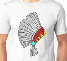 Indian Headdress Unisex T-Shirt