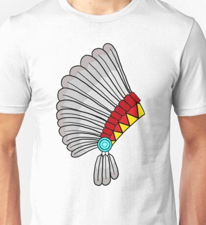 Indian Headdress Unisex T-Shirt