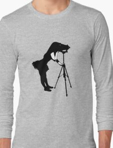Photographer Grrl Long Sleeve T-Shirt
