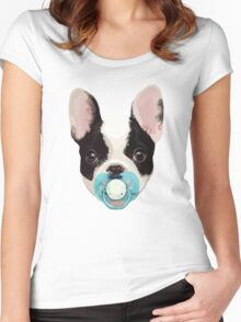 Baby Bulldog 2 Women's Fitted Scoop T-Shirt