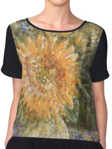 The Sunflower Chiffon Top