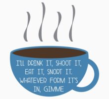 Gimme Coffee  by lollipopstevens