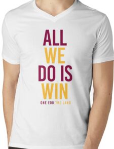 Cleveland Cavaliers Champions - All We Do Is Win Mens V-Neck T-Shirt