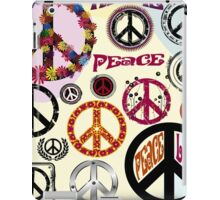 Flower Power Peace And Love Hippie  iPad Case/Skin