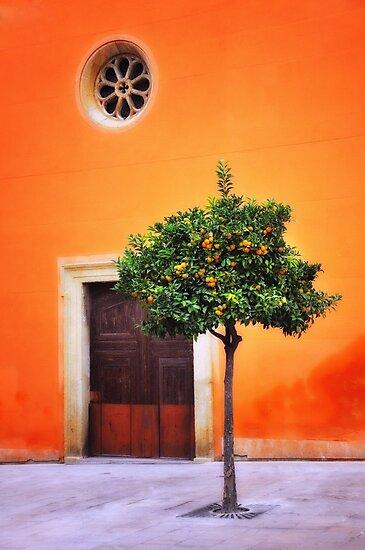 Orange Chapel by lamiel