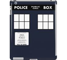Tardis Door (Version 2) iPad Case/Skin