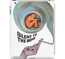 Silent to the Bone iPad Case/Skin
