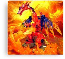 Megatron Volcanic Canvas Print