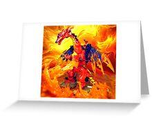 Megatron Volcanic Greeting Card