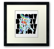 Brony Dash Framed Print
