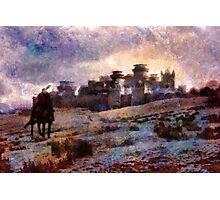 Jon Snow Of Winterfell Photographic Print