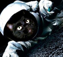 Space Cat Wants Pizza Sticker