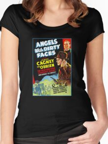 Angels with Dirty Faces Women's Fitted Scoop T-Shirt