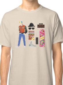 Back to the Future : Time Traveler Essentials 2015 Classic T-Shirt