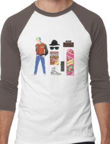 Back to the Future : Time Traveler Essentials 2015 Men's Baseball ¾ T-Shirt