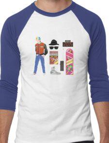 Back to the Future : Time Traveler Essentials 2015 Men's Baseball ¾ T-Shirt