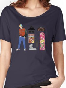 Back to the Future : Time Traveler Essentials 2015 Women's Relaxed Fit T-Shirt