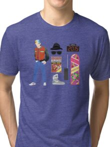 Back to the Future : Time Traveler Essentials 2015 Tri-blend T-Shirt