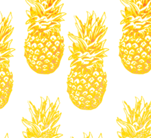 Pineapple Sunrise Sticker