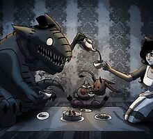 Tea Party by OddworldArt