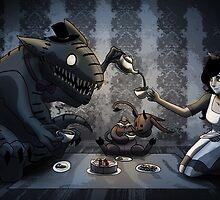 Tea Party by OddworldArt
