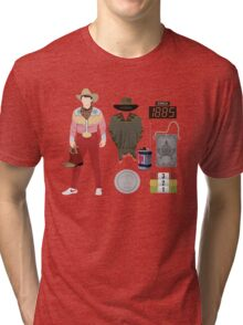 Back to the Future : Time Traveler Essentials 1885 Tri-blend T-Shirt