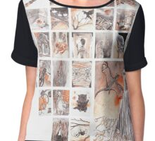 Halloween Advent Calendar Chiffon Top