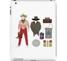 Back to the Future : Time Traveler Essentials 1885 iPad Case/Skin