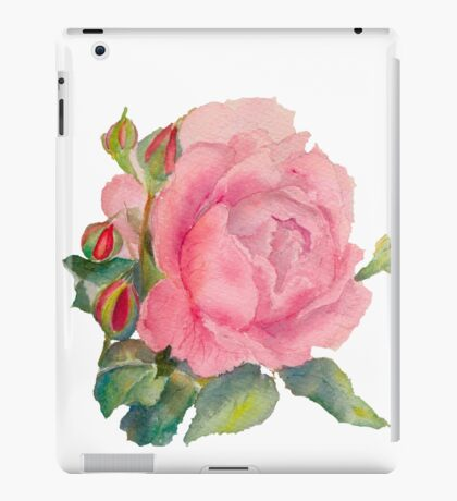 ROSE and buds iPad Case/Skin