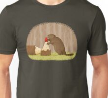 The Beaver And The Color In The Forest Unisex T-Shirt