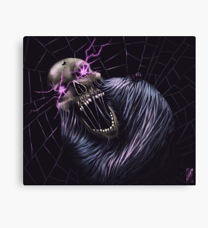 Torment of the Spider King Canvas Print