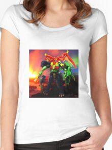 Magmatron Volcanic Women's Fitted Scoop T-Shirt