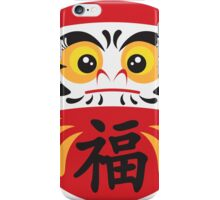 Japanese Daruma Doll Illustration iPhone Case/Skin