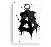 Thresh Lantern Ink Metal Print