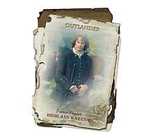 Outlander/Jamie Fraser Photographic Print