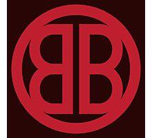 Buckaroo Banzaï / red Photographic Print
