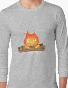 Comfy Calcifer Long Sleeve T-Shirt