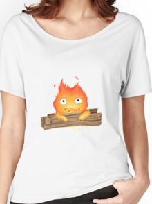 Comfy Calcifer Women's Relaxed Fit T-Shirt