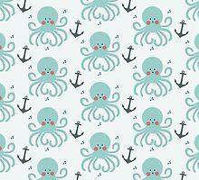 Squid Pattern by KarinBijlsma
