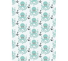 Squid Pattern Photographic Print