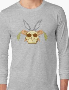 Old Rabbit Skull Long Sleeve T-Shirt