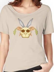 Old Rabbit Skull Women's Relaxed Fit T-Shirt