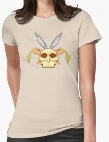 Old Rabbit Skull Womens Fitted T-Shirt