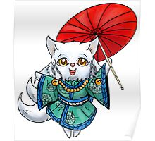 Chibi Kitsune Poster