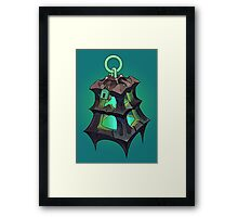 Thresh Lantern Framed Print