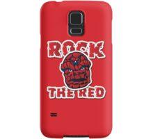 Rock the Red! Literally! Samsung Galaxy Case/Skin