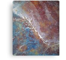 Abstract Organic Duvet Cover Art Canvas Print