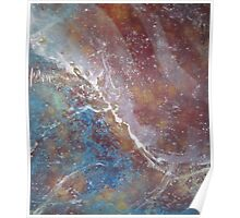 Abstract Organic Duvet Cover Art Poster